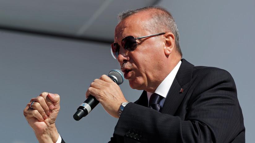 """Erdogan sobre los Altos de Golán: """"Trump está actuando como un matón"""""""