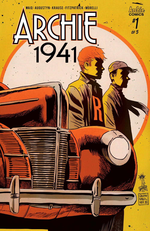 Archie 1941 #1: CVR C Francavilla