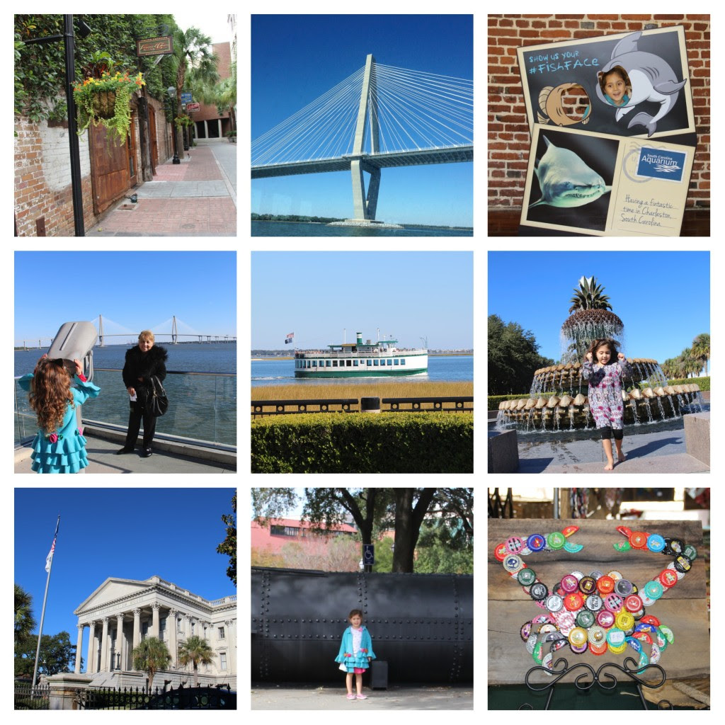 Family Friendly Charleston, South Carolina, Family Travel, Multi-generational travel, Girls Gone South, Pineapple Fountain, Charleston with Kids, Things to do in Charleston with kids