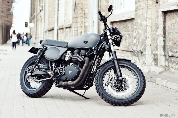 The best motorcycles from 2014 so far: Bonneville T100 by Renard Speed Shop
