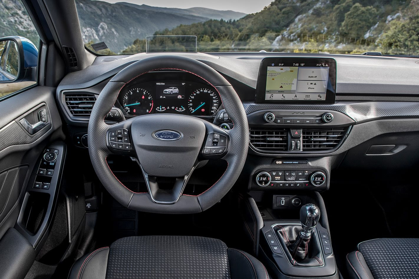 2019 Ford Focus ST-Line interior