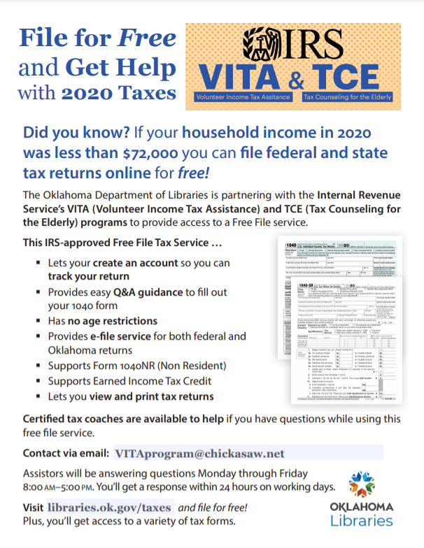 Tax Filing Flyer