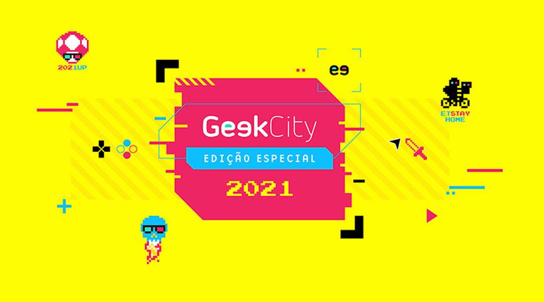 Geek City acontece nos dias 30 e 31 de outubro de forma 100% online e gratuita - Gaming Lab
