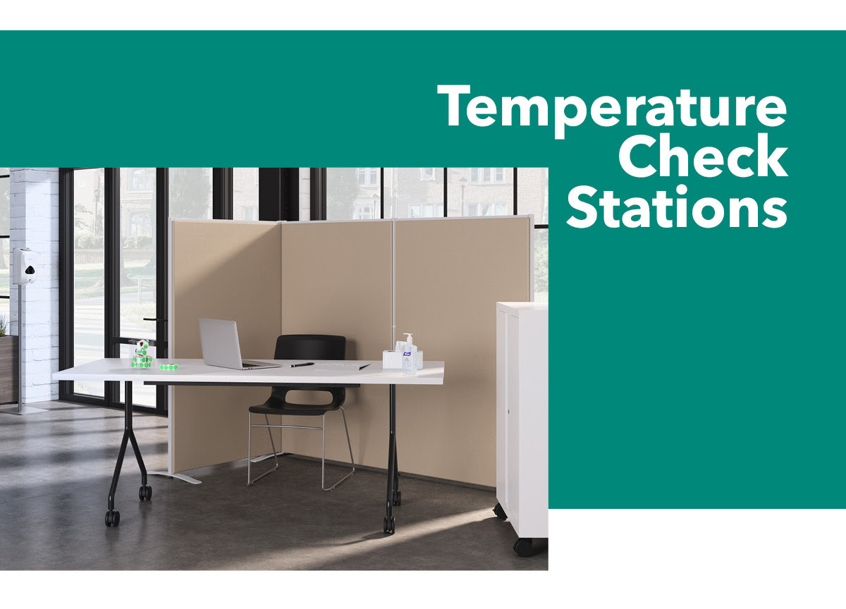 Temperature Check Stations