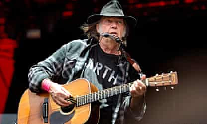 A gold rush for Neil Young will leave little for younger artists