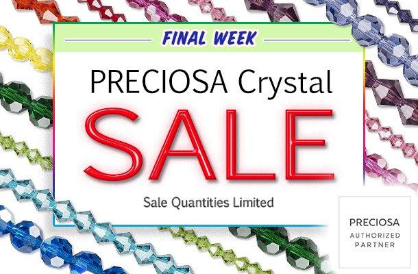 Preciosa Crystal Sale