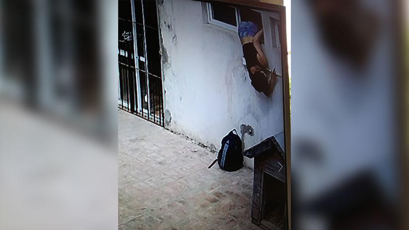 VIDEO, FOTOS: Pareja argentina cansada de los robos constantes instala cámaras y pilla a la ladrona