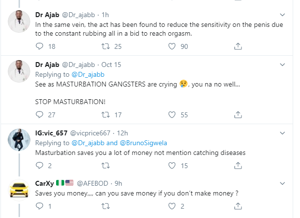 Nigerian Doctor reveals why masturbation is injurious to the health of men and women