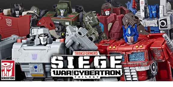 TRANSFORMERS WAR FOR CYBERTRON: SIEGE VOYAGER & DELUXE