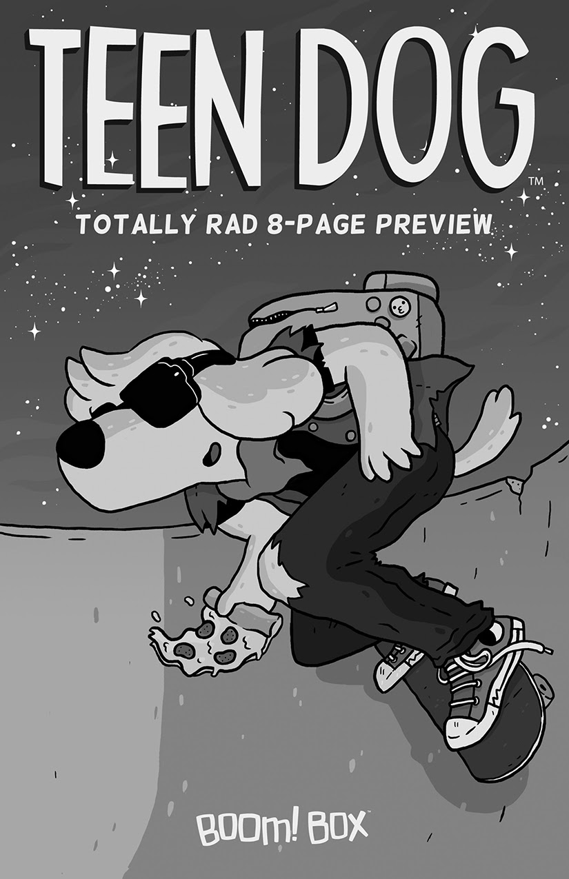 Teen Dog Zine - SDCC