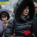 People in Kiev's Independence Square on Tuesday mourned those killed in recent demonstrations.