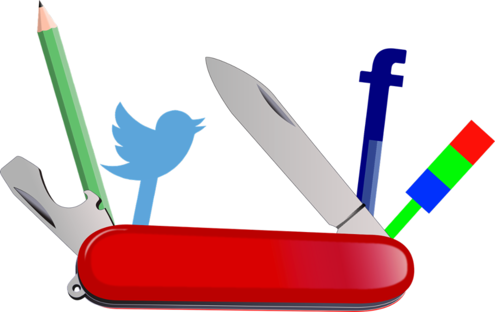 social media Swiss Army knife