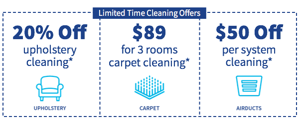 Coupon for your next Zerorez cleaning