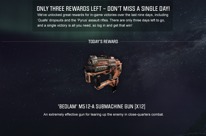 THREE REWARDS LEFT – DON'T MISS A SINGLE DAY!