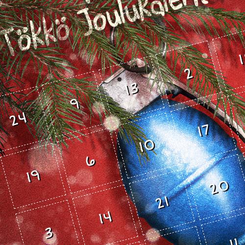 Varustelekan Tökkö Joulukalenteri