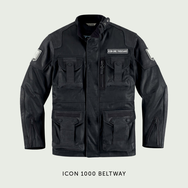 ICON 1000 Beltway motorcycle jacket