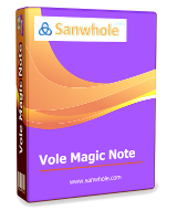 Vole Magic Note Professional 3.58 Giveaway