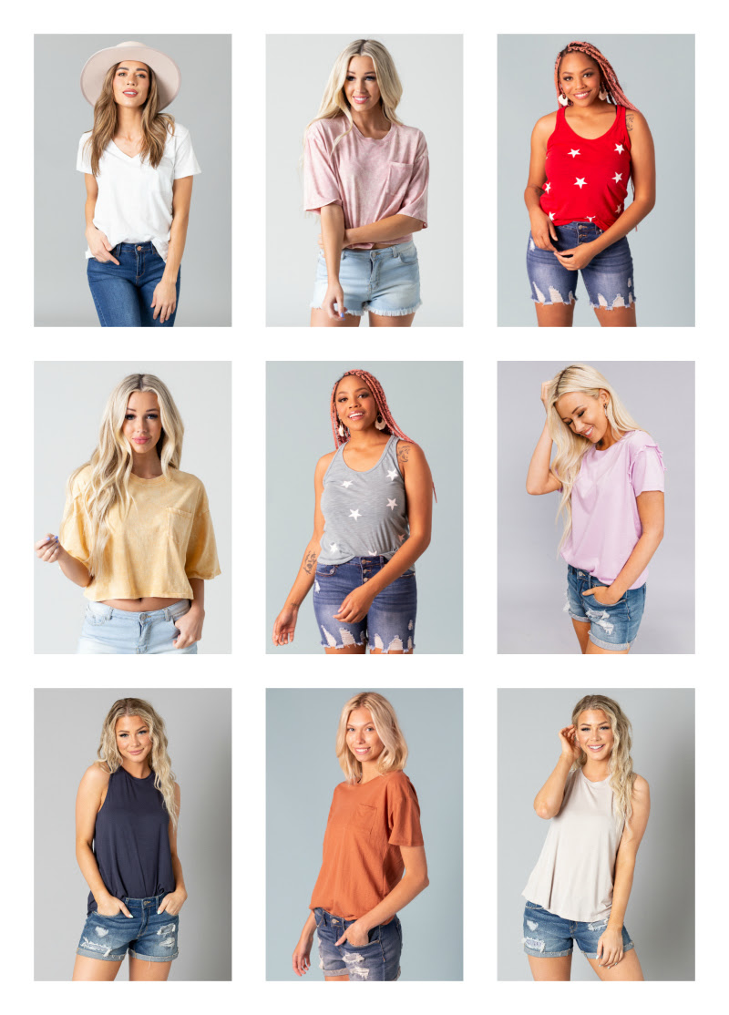 Favorite Tops