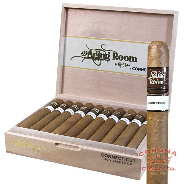 Image of Aging Room Core Connecticut Vivase Cigars