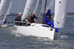 J/70 RAN sailing UK Nationals