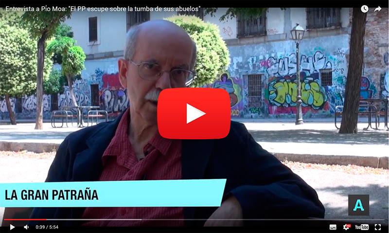 Haz  clic para ver entrevista con Pío Moa