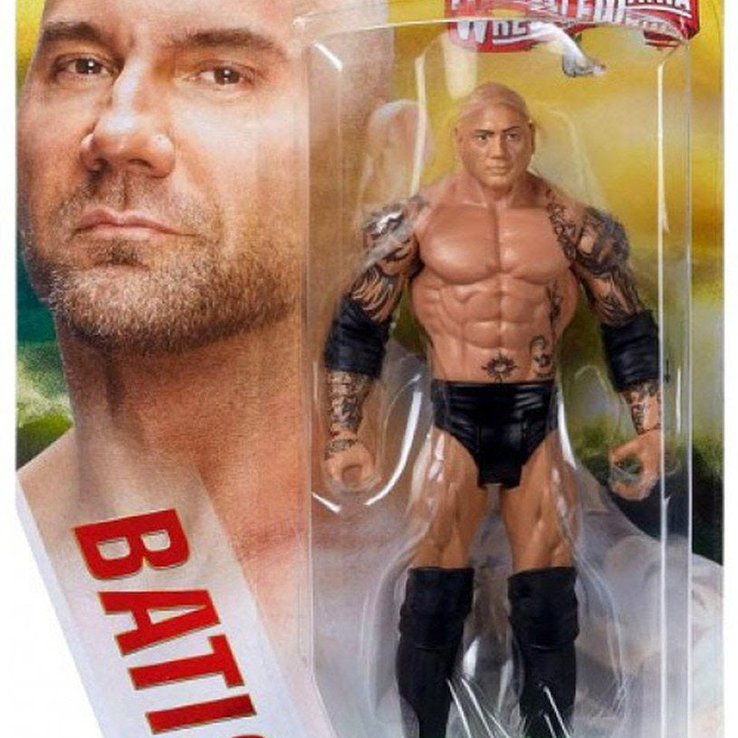 Image of WWE Wrestlemania Basic Action Figure Series - Batista (Wrestlemania 30)