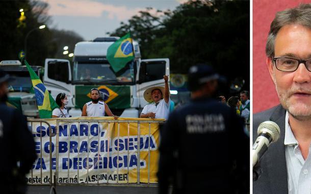 """""""Houve uma redução dramática da base do Bolsonaro"""", avalia João Cezar de Castro Rocha"""