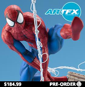 ARTFX SPIDER-MAN (WEBSLINGER) STATUE