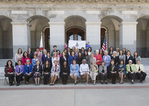 Women in the capitol