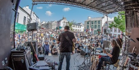 Rory Gallagher Festival Open Air Street Concert 2018