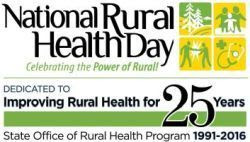 National Rural Health Day 2016