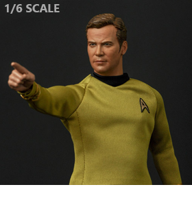 Star Trek: The Original Series Captain Kirk 1/6 Scale Limited Edition Figure