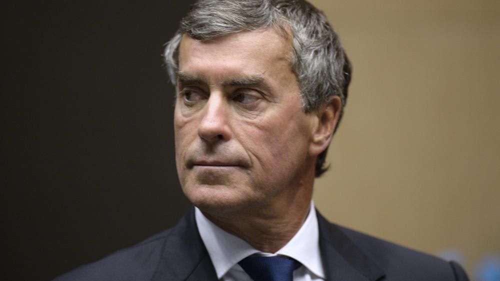 L'ex-ministre du Budget Jérôme Cahuzac, le 23 juillet 2013 à Paris, lors de son audition à l'Assemblée nationale.