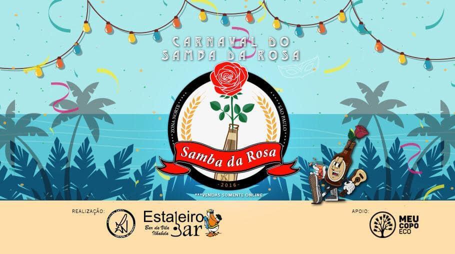 Samba da Rosa no Carnaval de Ilhabela