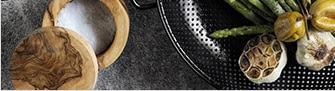 EXCLUSIVE - High-Heat Nonstick Steel Grill Cookware