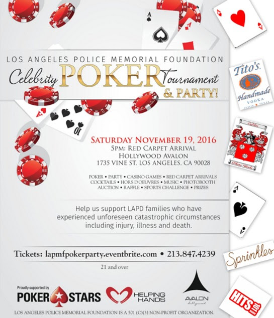 Los Angeles Police Memorial Foundation Celebrity Poker Tournament
