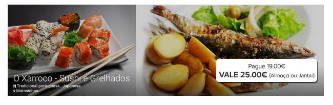 O Xarroco - Sushi e Grelhados