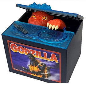 Godzilla vs. Destoroyah Burning Godzilla Limited Edition Coin Bank
