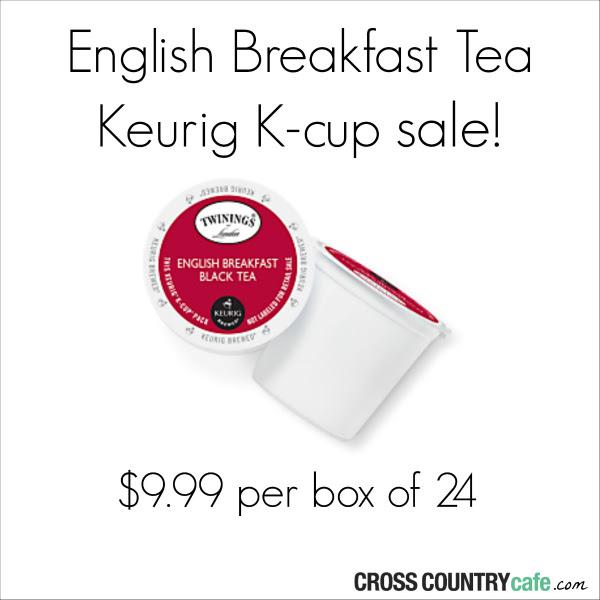 Twinings English Breakfast tea Keurig Kcup sale
