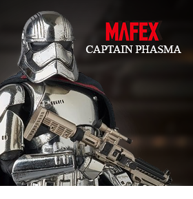 CAPTAIN PHASMA MIRACLE ACTION FIGURE EX