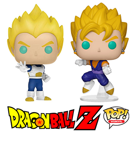 DRAGON BALL Z POP! EXCLUSIVE VEGETA & VEGITO