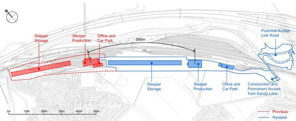 Network Rail significantly changes Bescot sleeper facility plans following public feedback