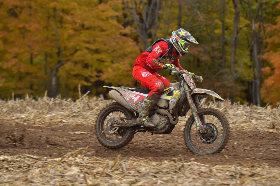 Josh Strang takes third overall, and second in XC1 Open Pro class at GNCC season finale.