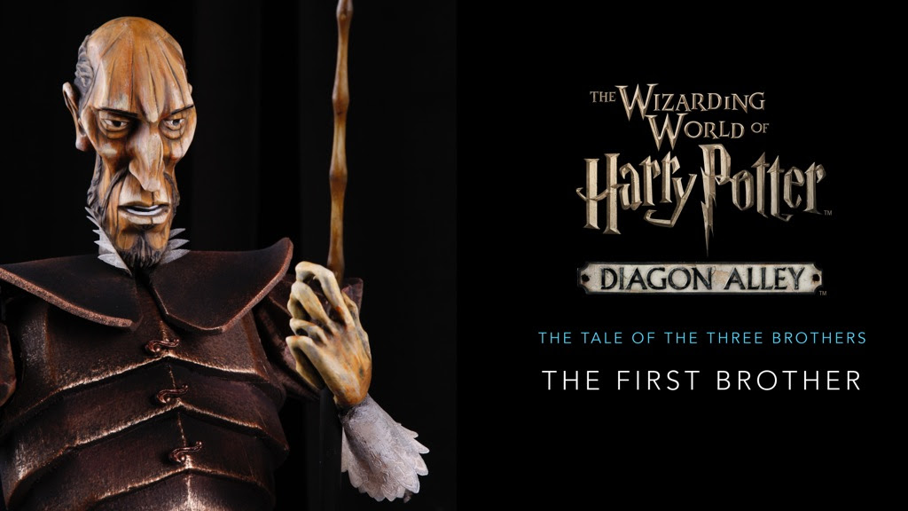 Tales of The Three Brothers at Diagon Alley