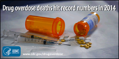 Drug deaths hit epidemic numbers in 2014
