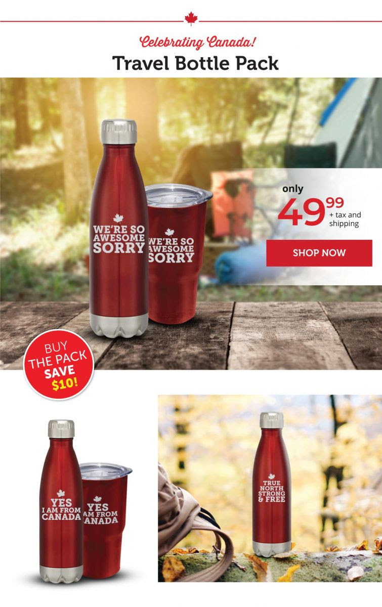 Stainless Steel Bottles available in many versions!