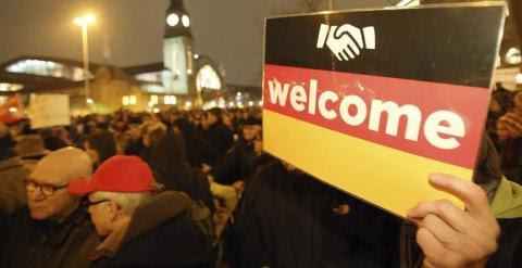 Protesta en rechazo al racismo y a la islamofobia en Hamburgo. / EFE