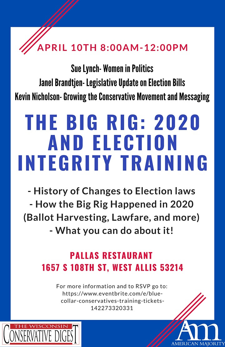 The Big Rig: 2020 and Election Integrity Training image