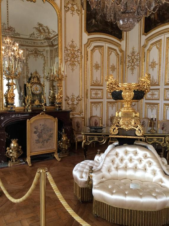 A Room In The Chateau de Chantilly