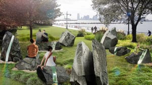 NYC's First LGBT Monument Will Be A Luminous Garden Of Rainbows